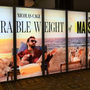 Unbearable Weight of Massive Talent - CinemaCon poster