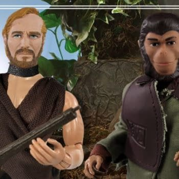 Planet of the Apes Mego Exclusives Arrive At Topps This Week