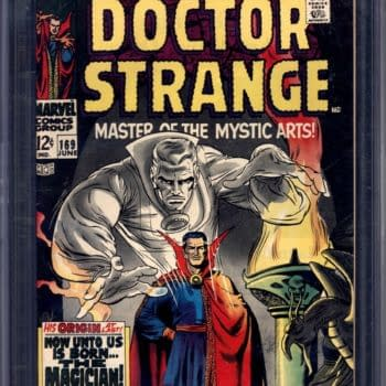 The Origin Of Doctor Strange On Auction At ComicConnect