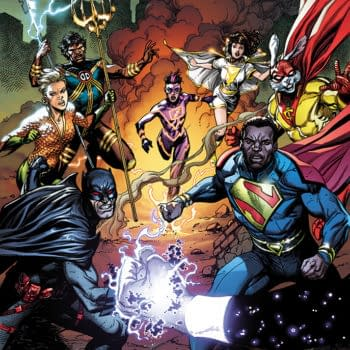 The cover to Justice League Incarnate by Gary Frank