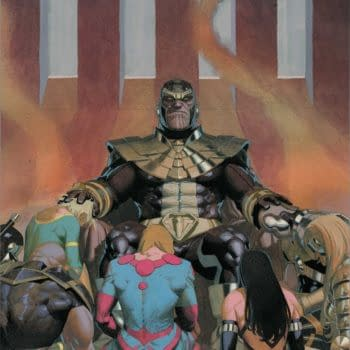 Esad Ribic's main cover to Eternals #7, by Kieron Gillen and Esad Ribic, in stores in November from Marvel Comics