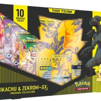 Pokémon TCG Reveals Tag Team Pikachu & Zekrom Premium Collection