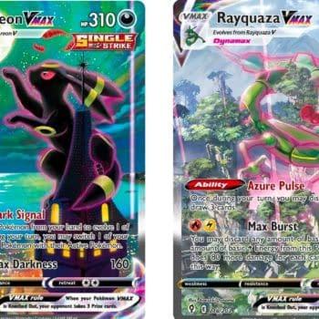 Towering Giants of Pokémon TCG - Evolving Skies: Umbreon & Rayquaza