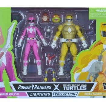 More TMNT x Power Rangers Crossover Figures Arrive From Hasbro