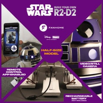 Build Your Own R2-D2 With Fanhome's Star Wars Subscription Service