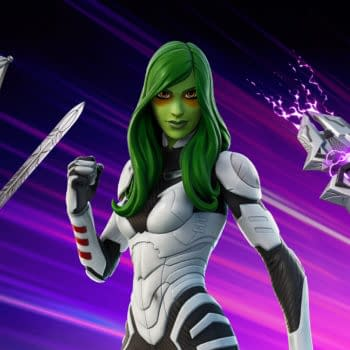 Gamora From Guardians Of The Galaxy Crashes Into Fortnite