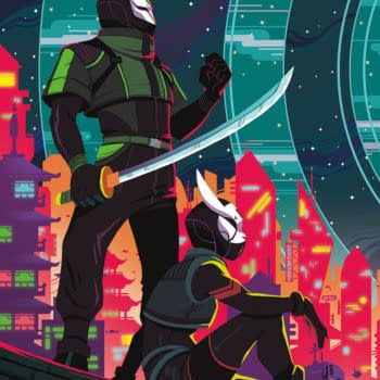 Cyberpunk Comic Fox and Hare Comes to Vault in November