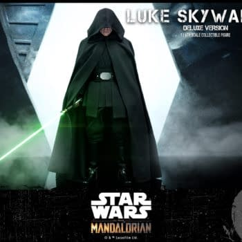 Star Wars The Mandalorian Luke Skywalker Comes to Hot Toys