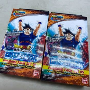 Opening Dragon Ball Super Card Game: Cross Spirits Premium Pack