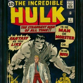 Incredible Hulk #1 CGC 8.0 Copy Over $100,000 At ComicConnect