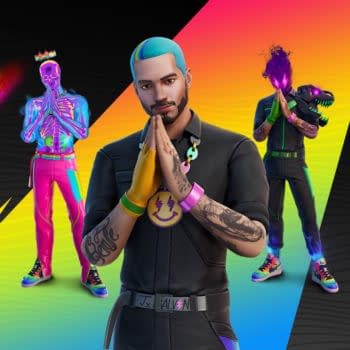 J Balvin Joins The Fortnite Icon Series This Week