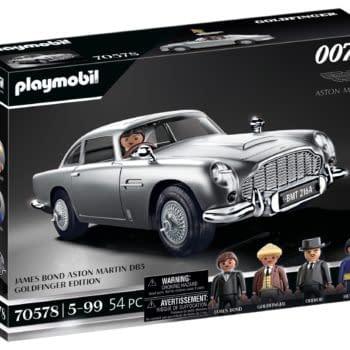 Bond Aston Martin Car Coming This Fall From Playmobil