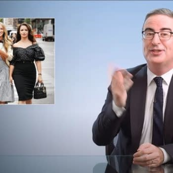 John Oliver Eviscerates Sex and the City Reboot's Kim Cattrall Snub