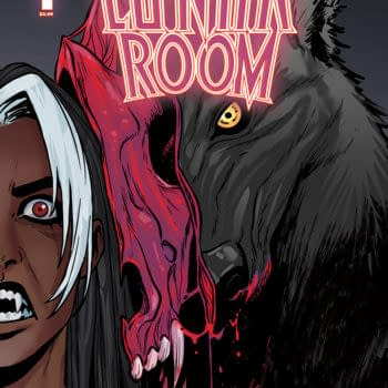 The Cover to Lunar Room #1, a new comic coming from Vault Comics in November, by Danny Lore, Gio Sposito, DJ Chavis, and letterer Andworld Design