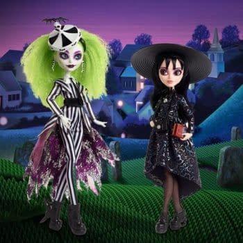 Mattel Creations Unveils Exclusive Beetlejuice Monster High Dolls
