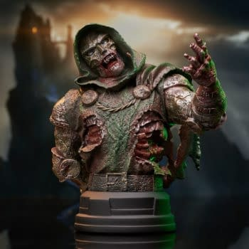 Doctor Doom Hungers Brains Not Power With New Gentle Giant Statue