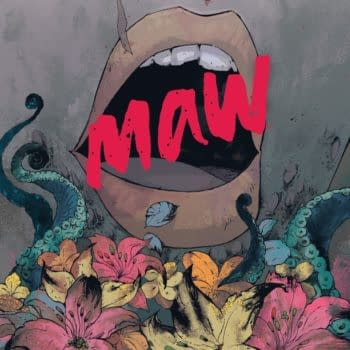 The cover to Maw #1 from BOOM! Studios