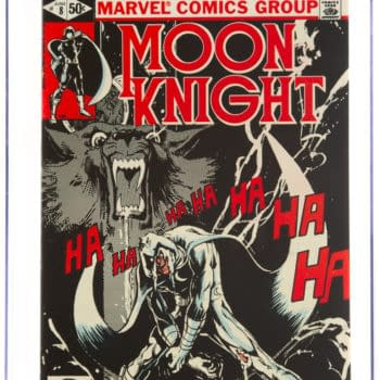 Moon Knight #8 Sienkiewicz CGC Copy On Auction At Heritage Auctions