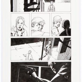 Original Adlard Artwork From The Walking Dead #41 Hits Auction