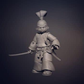 NECA Licenced Usagi Yojimbo For Their TMNT Cartoon Line