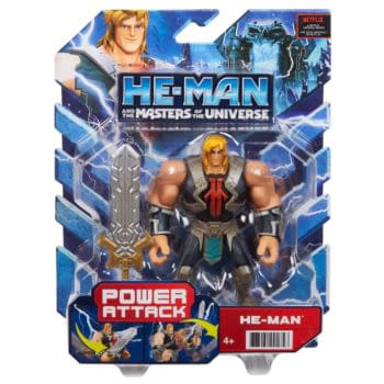 Mattel Reveals He-Man and the Masters of the Universe Collectibles