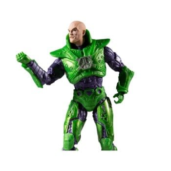 Lex Luther Powers Up with McFarlane Toys Green Power Suit Figure