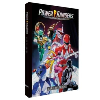 Renegade Game Studios Announces Power Rangers Roleplaying Game