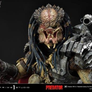Prime 1 Studio Reveals Ahab Predator Dark Horse Comic Statue