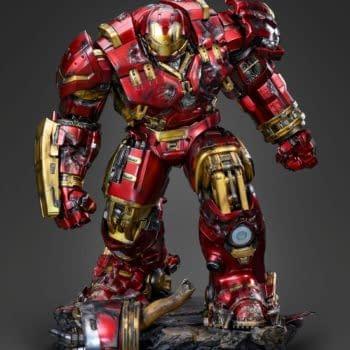Iron Man Mark 44 Hulkbuster Make its Landing At Queen Studios