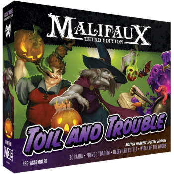 Wyrd Games Announces New Limited Zoraida Box Sculpts For Malifaux