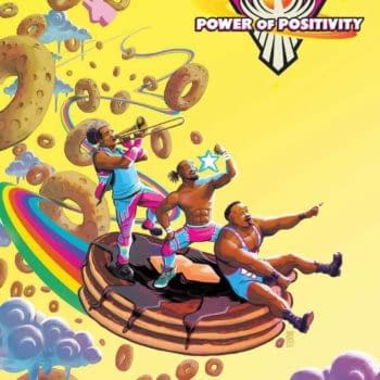 Cover image for WWE NEW DAY POWER OF POSITIVITY #2 (OF 2) CVR A BAYLISS