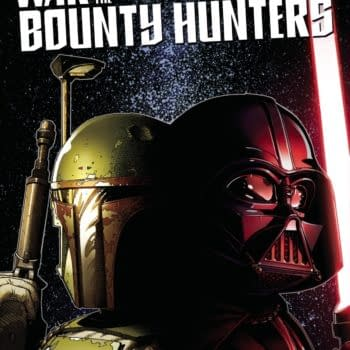 Cover image for JUN210731 STAR WARS WAR OF THE BOUNTY HUNTERS #3 (OF 5), by (W) Charles Soule (A) Luke Ross (CA) Steve McNiven, in stores Wednesday, August 18, 2021 from MARVEL COMICS