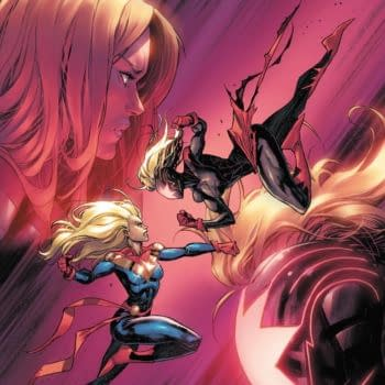 Cover image for CAPTAIN MARVEL #32