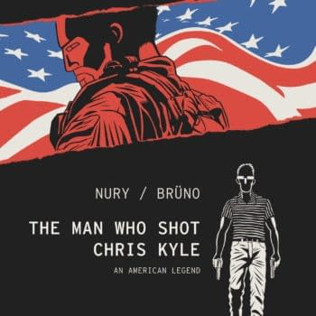 Cover image for MAN WHO SHOT CHRIS KYLE AN AMERICAN LEGEND HC VOL 01 (MR) (C