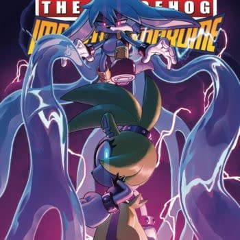 Cover image for SONIC HEDGEHOG IMPOSTER SYNDROME #1 (OF 4) CVR C 10 COPY STA