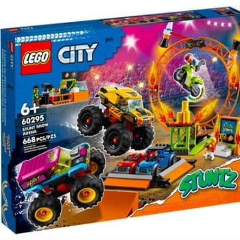 High Flying Action Arrives With LEGO's Newest City Stuntz Set