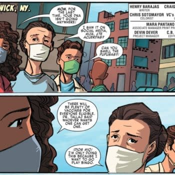 Marvel Heroes Don't Care if You're Vaxxed, But They Do Like Papusas