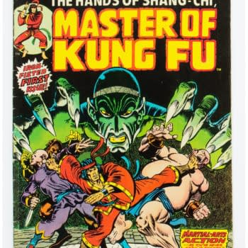 Grab A Raw Copy Of Shang-Chi's First Appearance At Heritage Auctions