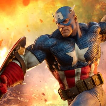 Stay Patriotic With Sideshow's Newest Captain America Statue