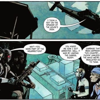 DC Comics Suicide Squad Character Who Led The Capitol Insurrection