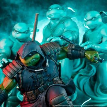The Teenage Mutant Ninja Turtles: The Last Ronin PCS Statue Coming