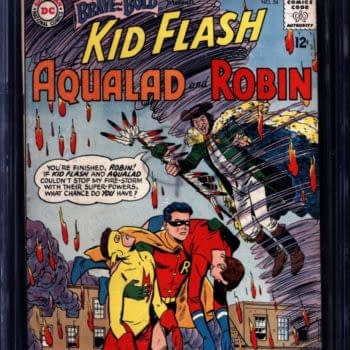Teen Titans First Appearance In Brave & Bold #54 On Auction