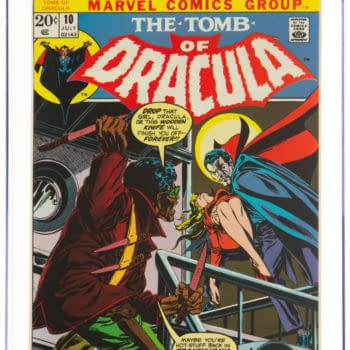 Blade Debut In Tomb Of Dracula On Auction At Heritage Auctions Today