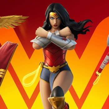 Wonder Woman Dives Into Fortnite For Latest Event