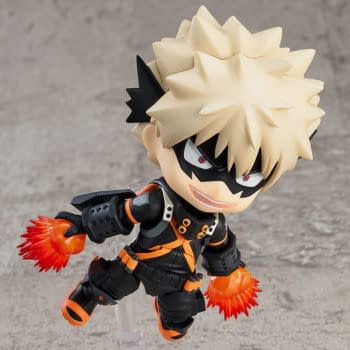 Stealth Suit Bakugo from My Hero Academia Arrives at Good Smile