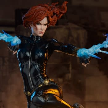 Black Widow Makes Her Escape With Sideshow's Newest Marvel Statue
