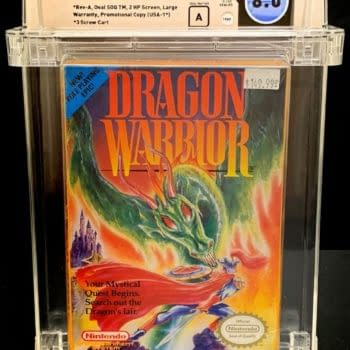 Dragon Warrior For NES Up On The Auction Block At ComicConnect