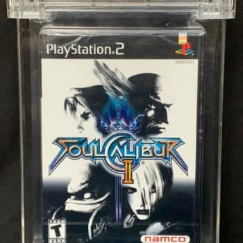 Soul Calibur II For PlayStation 2 Up For Auction At ComicConnect