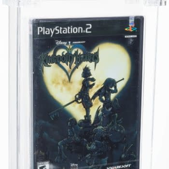 Kingdom Hearts Sealed PS2 Game Available For Auction At Heritage