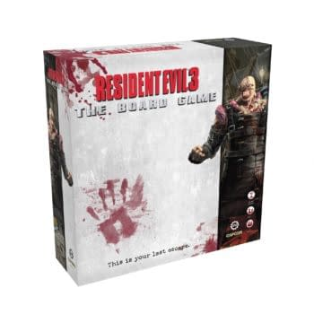 Resident Evil 3: The Board Game Street Date And MSRP Announced